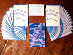 I WILL TO WILL  THY  WILL CARDS 27 Inspirational offerings by Romani Light Price $15.95 per pack