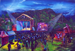 No 3  CAROLS BY THE BAY with Kamal Sandy Bay TAS   Price AUS $4000.oo - PRINTS AVAILABLE