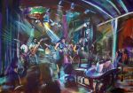 No 73 bostocks diptych no1 artist Bob Gammage - PRINTS AVAILABLE