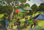 GREENDAY IN THE WOODS