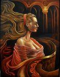 FANTASY artist Brian Tisdall