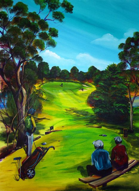 the 6th Tee Par 3 the Vines STH AUST SEE INVESTMENT ROOM