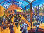Oscar W's Jazz Food And Wine Echuca Artist Bob Gammage Sold