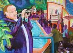 NOOSA JAZZ FESTIVAL SOLD artist -BOB GAMMAGE-