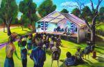 EASTEND JAZZ FESTIVAL SOLD artist -BOB GAMMAGE-