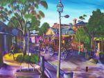 the Queens Baton Runner Port of Echuca Artist Bob Gammage sold