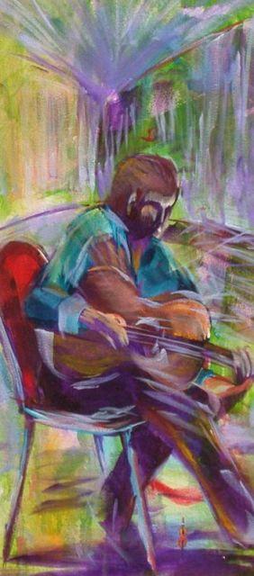 Joes Waterhole series AUS $400.oo artist -BOB GAMMAGE- PRINTS AVAILABLE