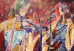 Tamworth Country Music Festival Series  AUS $5,500.oo SOLD artist -BOB GAMMAGE-