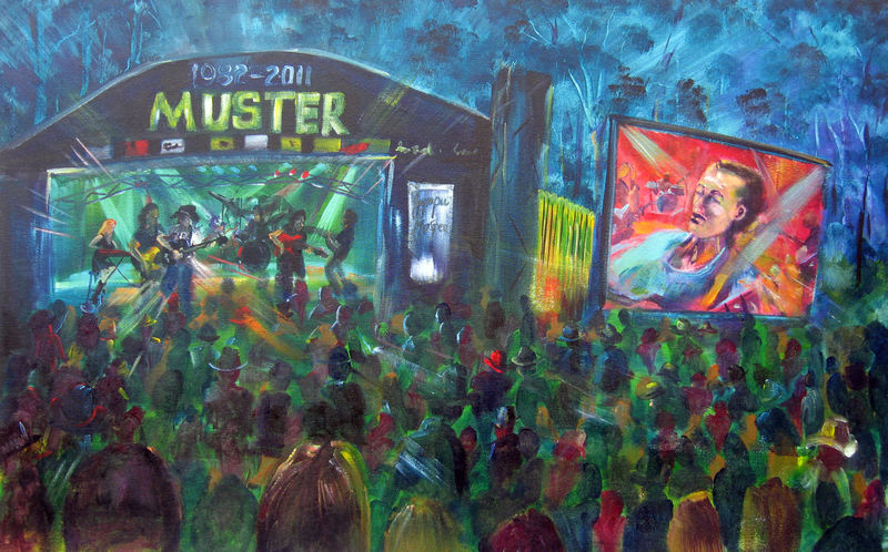 30th Anniversary Gympie Music Muster 1982-2011 Main Stage