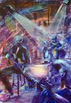 Brian Fraser Trio jammin' blues - SOLD - Prints available at -