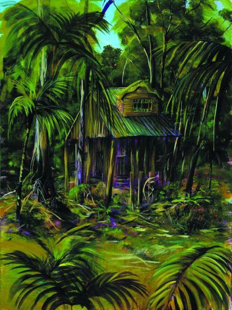 Secrets on the Lake AUS $3750.oo SOLD artist -BOB GAMMAGE-