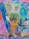 CAMILLES COCINA PALMWOODS SOLD artist -BOB GAMMAGE-