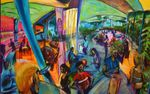 HASTING STREET RESTAURANT SERIES SOLD artist -BOB GAMMAGE-