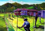 SO.. ANDY'S PLAYING BOWLS