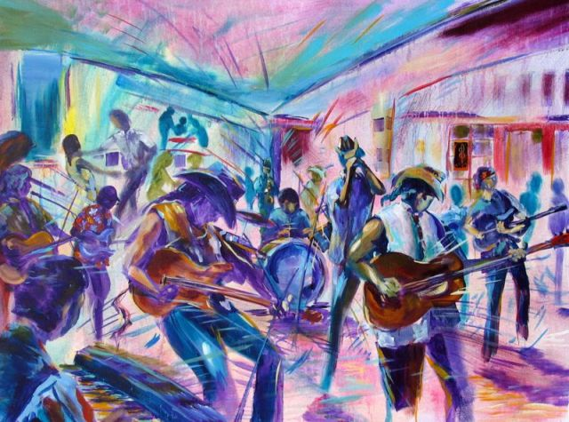 Johnny Green and the Blues Cowboys $3,500 SOLD