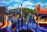 Tamworth Country Music Festival Price $4,200.oo SOLD artist Bob Gammage