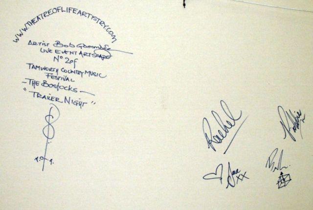 Bostocks Diptych signatures