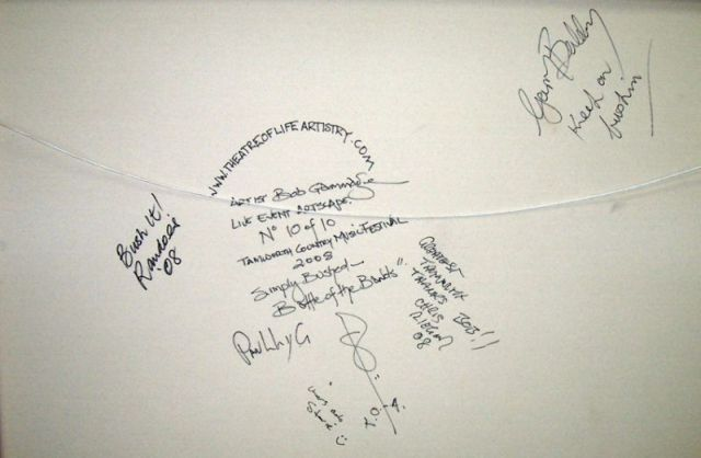 simply bushed battle of the bands signatures 12cm