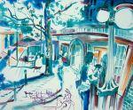 tudor sillouttes Price AUS SOLD artistt Bob Gammage