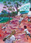 Noosa Triathlon Series AUS $3,500.oo SOLD artist Bob Gammage