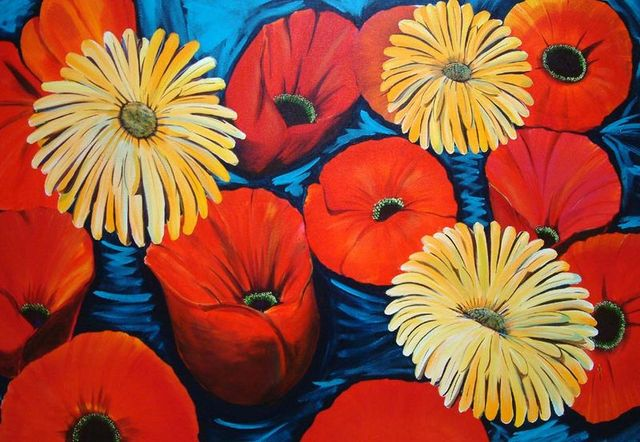 poppies SOLD