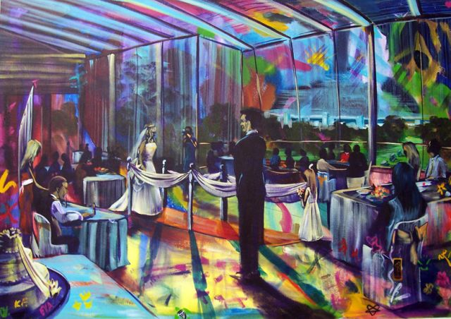 Anthony & Kylies Wedding COMMISSION