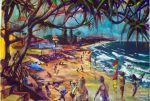 Coolum Beach Sunshine Coast Artist Bob Gammage Price - SOLD