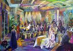shiffilliti Wedding Townsville  commission Artist Bob Gammage