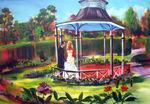 wedding rose garden thorne and jessica20cm